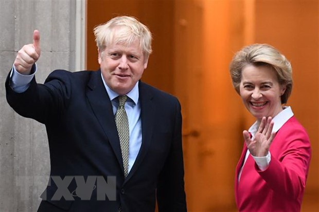 Thu tuong Anh: Thoa thuan thuong mai voi EU 'sap hoan tat' hinh anh 1