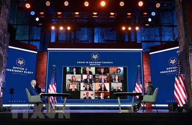 Bau cu My 2020: Lanh dao cac nuoc G7 chuc mung ong Joe Biden hinh anh 1
