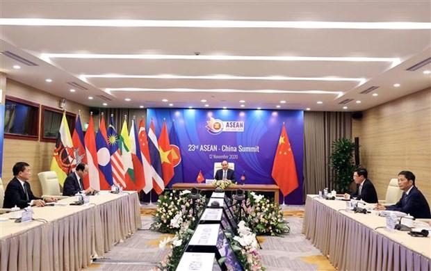 Thu tuong Nguyen Xuan Phuc chu tri Hoi nghi Cap cao ASEAN-Trung Quoc hinh anh 2