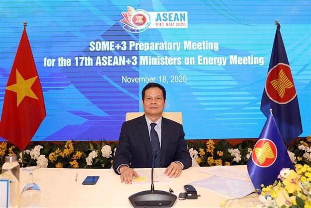 Hop tru bi chuan bi cho Hoi nghi Bo truong ASEAN+3 ve nang luong hinh anh 1