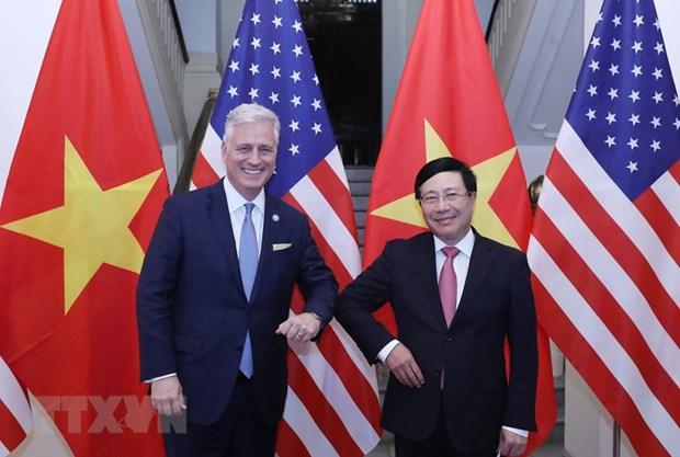 'Quan he Viet Nam-Hoa Ky chua bao gio phat trien manh me nhu hien nay' hinh anh 1
