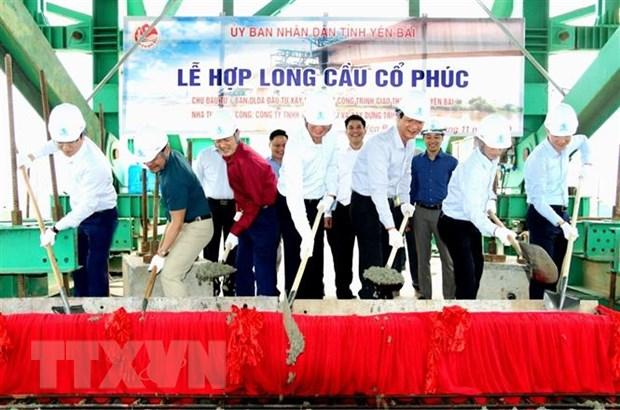 Hop long cau Co Phuc bac qua song Hong, von dau tu 330 ty dong hinh anh 1