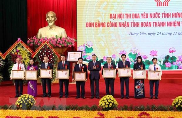 Hung Yen: Bieu duong kip thoi nguoi truc tiep lao dong san xuat hinh anh 1