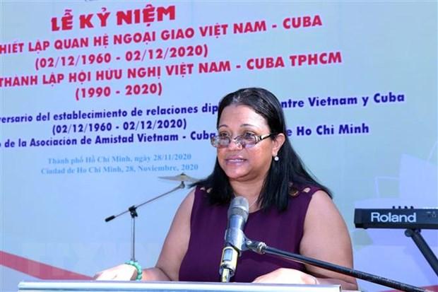 Ky niem 60 nam Ngay thiet lap quan he ngoai giao Viet Nam-Cuba hinh anh 2