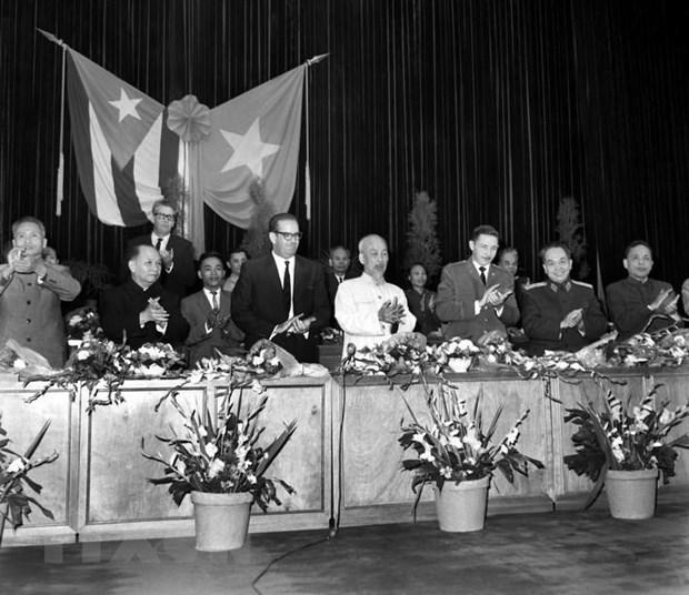 60 nam quan he Viet Nam-Cuba: Viet tiep nhung trang su ve vang hinh anh 1