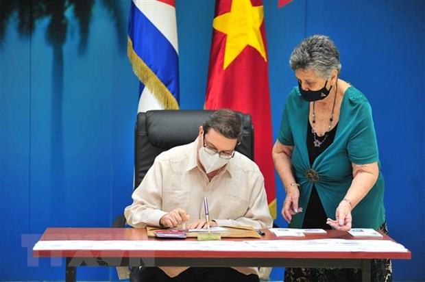 60 nam quan he ngoai giao Viet Nam-Cuba: Phat hanh bo tem chung hinh anh 2