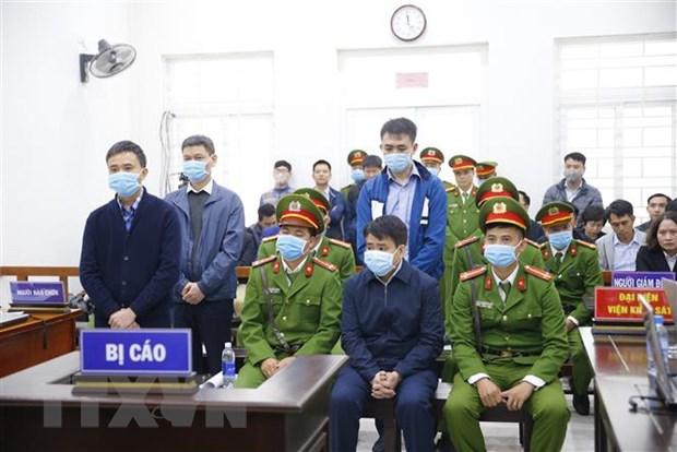 Bi cao Nguyen Duc Chung linh an 5 nam tu lien quan vu an Nhat Cuong hinh anh 1