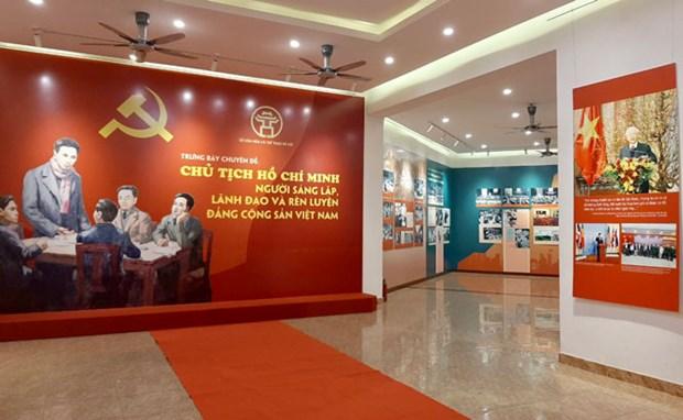 Trung bay chuyen de ve cong lao to lon cua Chu tich Ho Chi Minh hinh anh 1