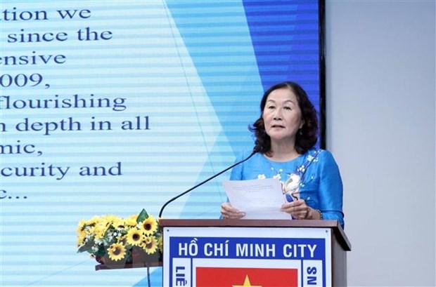 Thanh pho Ho Chi Minh: Hop mat ky niem Quoc khanh Australia hinh anh 1