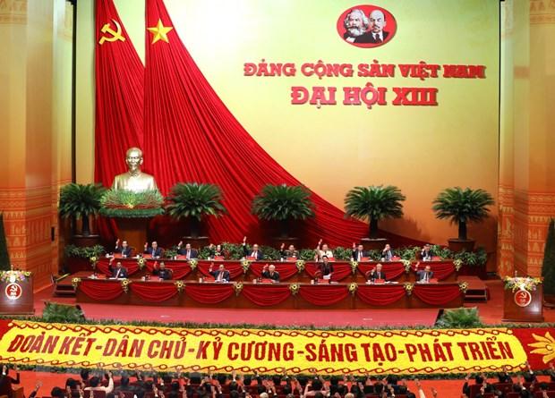 Dai hoi XIII: Dang Cong san Viet Nam dong hanh cung dan toc hinh anh 4