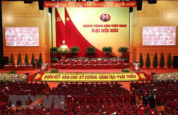 Ngay lam viec chinh thuc thu ba Dai hoi XIII: Bao cao cong tac nhan su hinh anh 1