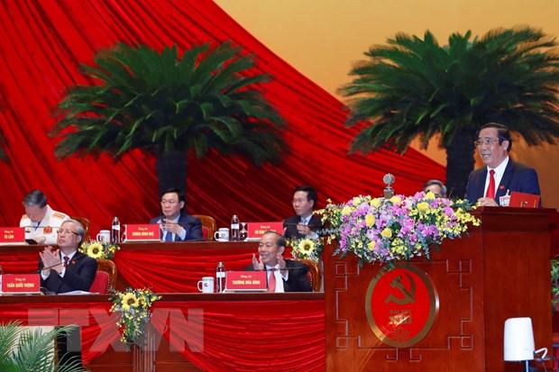 Danh sach Ban Chap hanh Trung uong Dang khoa XIII hinh anh 1