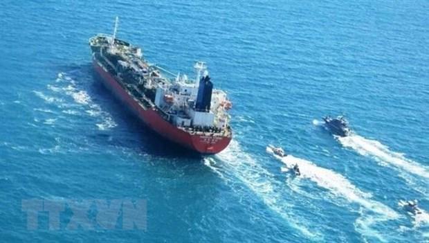 Iran investigates the commission of the Hankuk Chemi MT Hankuk Chemi agreement of Korea pictured 1