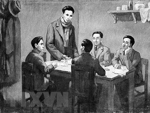 91 nam thanh lap Dang: Mo ra tuong lai tuoi sang cho dan toc Viet Nam hinh anh 1
