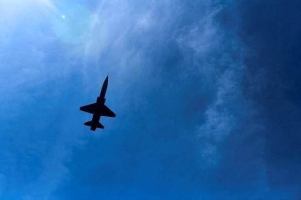 My: May bay quan su roi xuong mot khu rung, 2 nguoi thiet mang hinh anh 1