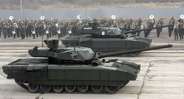 Da co sau nuoc muon mua xe tang T-14 Armata moi nhat cua Nga hinh anh 1