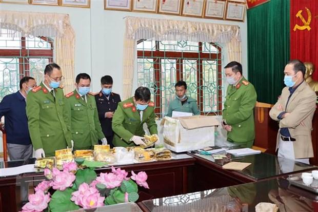 Mo rong chuyen an, Cong an Lai Chau thu giu them 32kg ma tuy dang da hinh anh 1