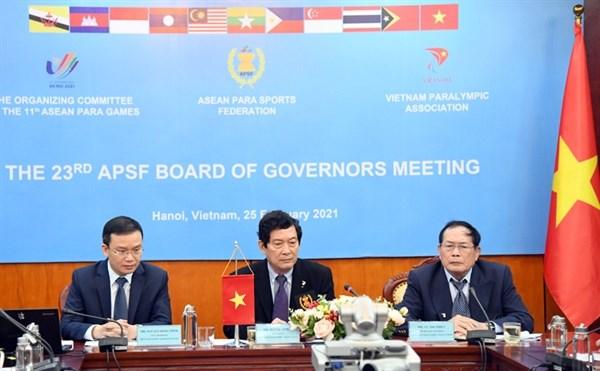 Viet Nam chinh thuc duoc quyen to chuc ASEAN Para Games 11 hinh anh 1