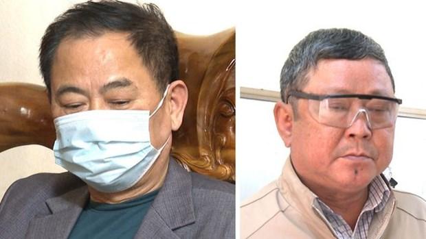 Thanh Hoa: Bat tam giam nguyen Chu tich UBND thi tran Ngoc Lac hinh anh 1