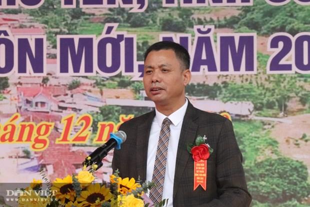 Ong Nguyen Thanh Cong giu chuc Pho Chu tich UBND tinh Son La hinh anh 1