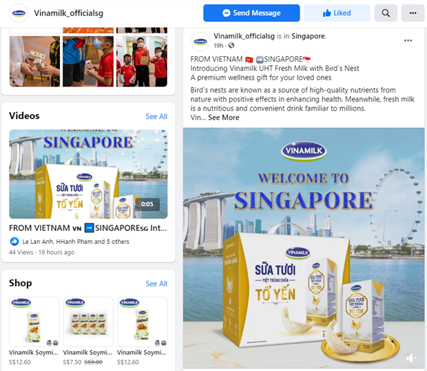 Sua tuoi chua to yen cua Vinamilk lan dau xuat sang Singapore hinh anh 4
