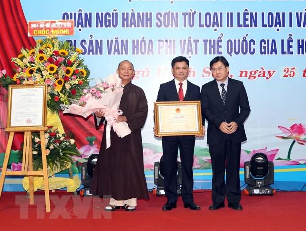 Phat huy gia tri di san Le hoi Quan The Am-Ngu Hanh Son cua Da Nang hinh anh 1