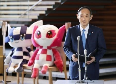 Thu tuong Nhat khang dinh cam ket dam bao an toan cho Olympic Tokyo hinh anh 1