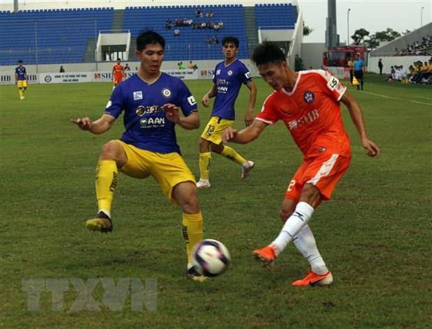 Thua tiep SHB Da Nang, Ha Noi FC roi tu do sau su co cua Hung Dung hinh anh 1