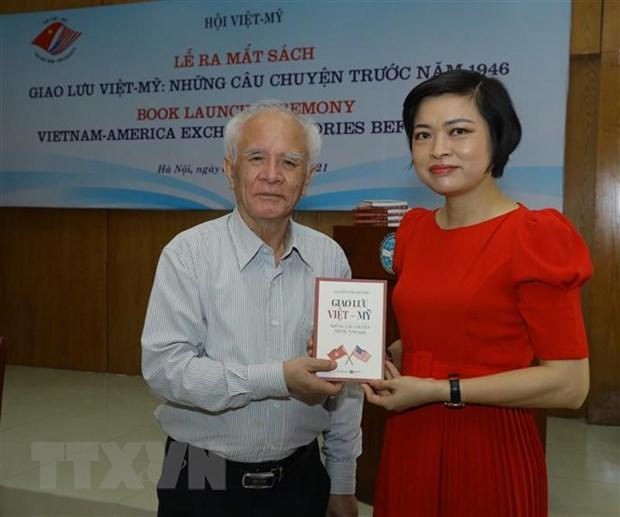 Ra mat sach 'Giao luu Viet-My: Nhung cau chuyen truoc nam 1946' hinh anh 1