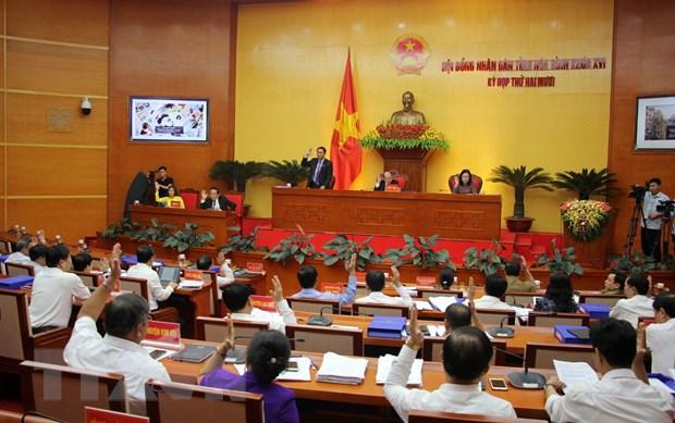 HDND tinh Hoa Binh thong qua 24 nghi quyet ve kinh te va nhan su hinh anh 1
