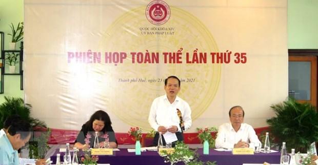Phien hop toan the lan thu 35 Uy ban Phap luat cua Quoc hoi hinh anh 1