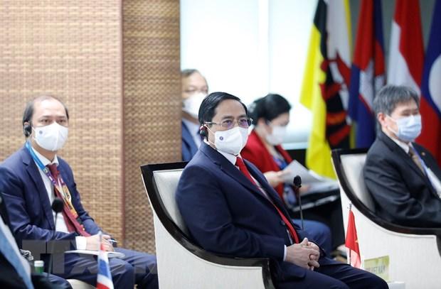 Thu tuong ket thuc chuyen tham du Hoi nghi cac nha lanh dao ASEAN hinh anh 1