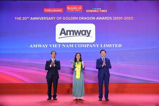 Amway: 10 nam lien tuc kinh doanh thanh cong tai Viet Nam hinh anh 1