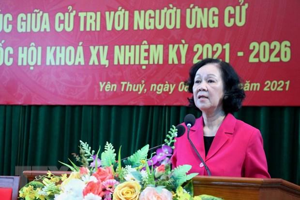 Hoa Binh: Thuc hien tot quyen va nghia vu cua nguoi dai bieu dan cu hinh anh 1