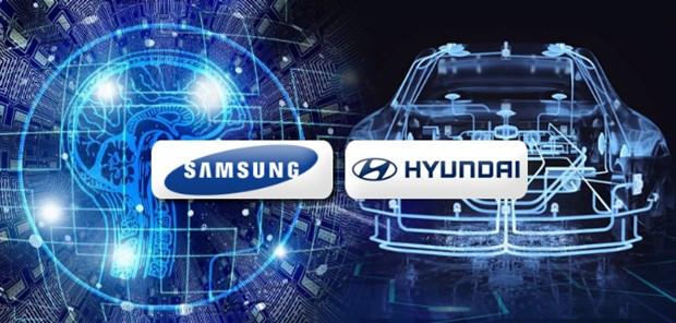 Samsung va Hyundai hop tac giai quyet tinh trang thieu chip oto hinh anh 1