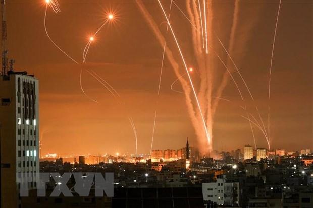 My thao luan voi Israel va Palestine ve cang thang o Dai Gaza hinh anh 1
