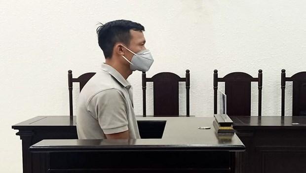 Ha Noi: Doi tuong lua ban kios tai cho Ha Dong linh an 7 nam tu hinh anh 1