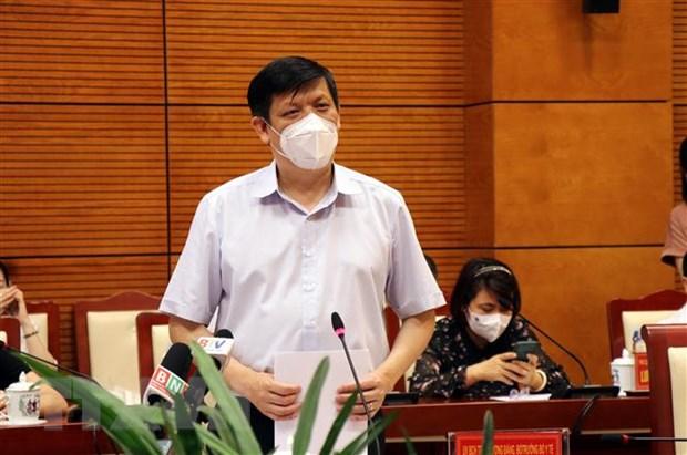 Bo truong Y te: Bac Ninh can dam bao an toan trong khu cong nghiep hinh anh 1