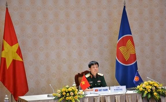 Viet Nam du Doi thoai Quan chuc quoc phong Dien dan khu vuc ASEAN hinh anh 1