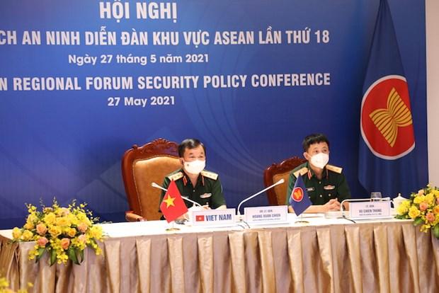 Hoi nghi Chinh sach an ninh Dien dan khu vuc ASEAN lan thu 18 hinh anh 1