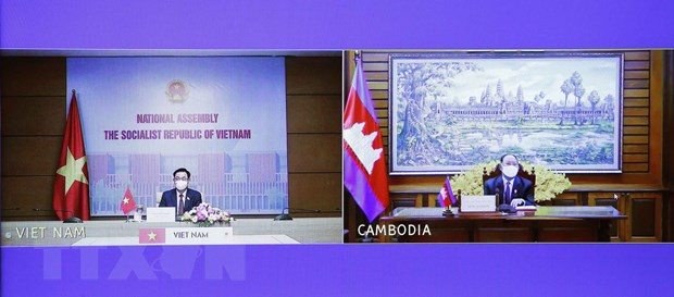 Tang cuong quan he huu nghi, hop tac toan dien Viet Nam-Campuchia hinh anh 1