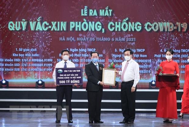 Nhieu doanh nghiep TP.HCM ung ho Quy vaccine phong, chong COVID-19 hinh anh 1