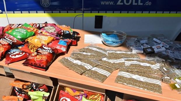 Hải quan Đức thu giữ lượng thuốc lắc và hạt giống cần sa kỷ lục