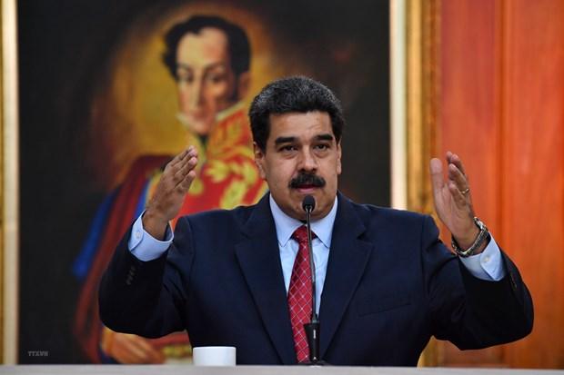 Tong thong Venezuela Nicolas Maduro san sang khoi phuc quan he voi My hinh anh 1
