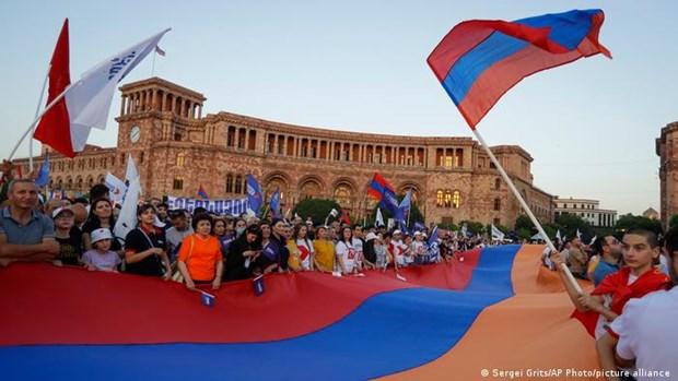 Tuan hanh lon tai Armenia truoc them cuoc bau cu Quoc hoi hinh anh 1