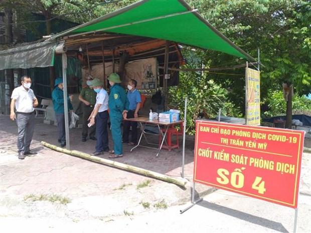 Hung Yen phat hien them 2 truong hop duong tinh voi SARS-CoV-2 hinh anh 1