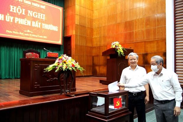 Ong Nguyen Van Phuong duoc bau lam Pho Bi thu Tinh uy Thua Thien-Hue hinh anh 1