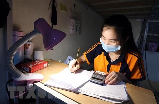 Ky thi tot nghiep THPT: Thanh pho Ho Chi Minh to chuc thi theo 2 dot hinh anh 1
