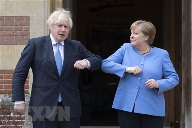 Thu tuong Duc: Uu tien trong quan he Anh-EU la van de Bac Ireland hinh anh 1