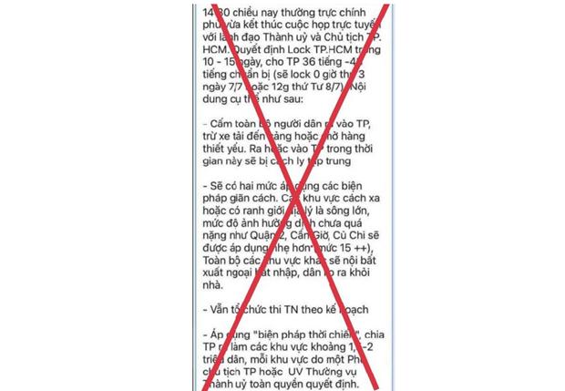 Bac bo thong tin 'dong cua' Thanh pho Ho Chi Minh trong 10-15 ngay hinh anh 1
